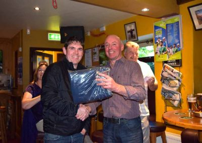 Golf society prize giving