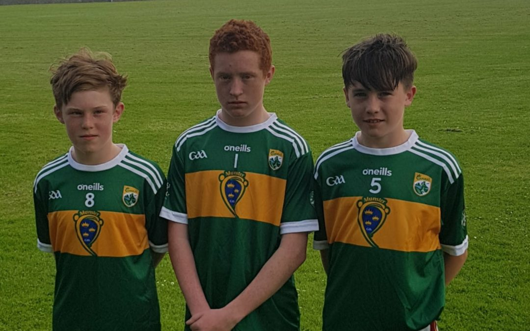 Darragh chosen to represent Kerry in The Primary Game