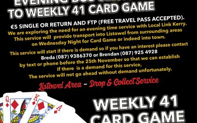 Local Link Bus Service – 41 Card Game